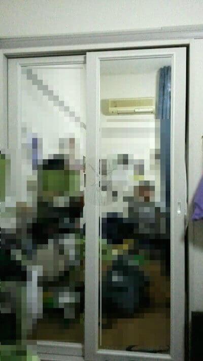 ワクワクメールで出会った女子大生の家にある鏡