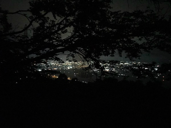 PCMAXで知り合った看護学生とドライブした時に行った夜景