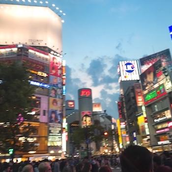 ワクワクメールで出会ったOLと待ち合わせした渋谷